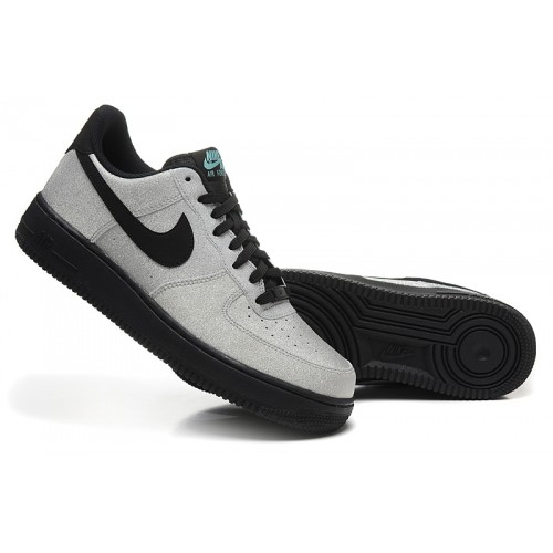 air force one noir gris homme